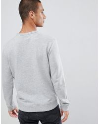Lee Jeans - Gray Jeans Box Logo Sweater for Men - Lyst