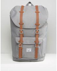 Herschel Supply Co. | Gray 25l Little America Backpack for Men | Lyst