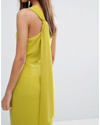Whistles - Yellow Bethan One Shoulder Maxi Dress - Lyst
