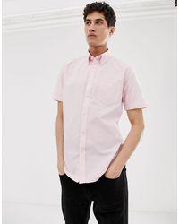 Оксфордская Рубашка С Короткими Рукавами -розовый Ben Sherman для него, цвет: Pink