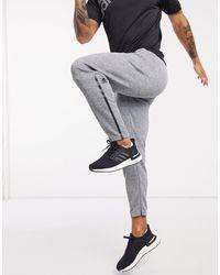 Серые Суженные Книзу Спортивные Штаны Z.n.e-серый Adidas для него, цвет: Gray