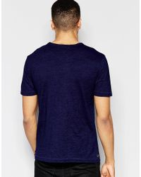 Original Penguin - Logo T-shirt - Blue for Men - Lyst