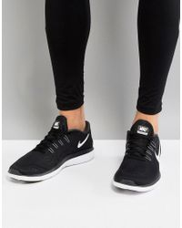 Flex 2017 Nike pour homme en coloris Black