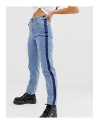 Noisy May Blue – e Jeans mit geradem Bein
