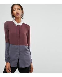 Y.A.S Multicolor Camis Colour Block Two In One Shirt