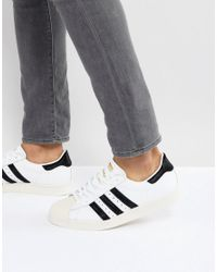 Adidas Originals Superstar 80s Sneakers In White