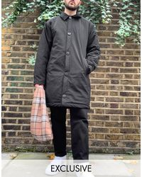 Нейлоновое Пальто -черный Collusion для него, цвет: Black