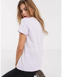 Camiseta con cuello redondo ASOS de color Multicolor