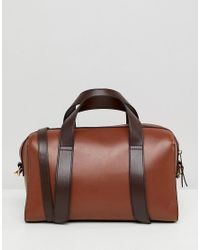 ASOS - Brown Bowler Bag - Lyst