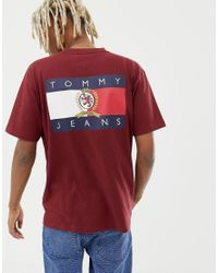 2e36615116a407 Tommy Hilfiger 6.0 Limited Capsule Crew Neck T-shirt With Back Print ...