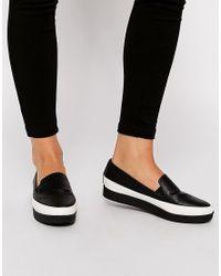 ASOS Black Asos Molly Rose Flatform Shoes
