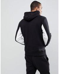 Reebok Pullover Hoodie In Black Cd7447 for men