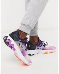 Nike Multicolor React Presto Premium Sneakers for men