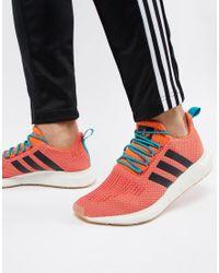 Swift Run Summer - Baskets - CQ3086 Adidas Originals pour homme en coloris Orange
