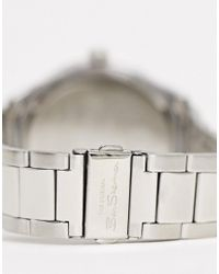 Orologio da uomo con bracciale argento di Ben Sherman in Metallic da Uomo