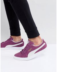 PUMA - Suede Classic Trainers In Purple 36534712 for Men - Lyst