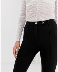 Pantalon slim River Island en coloris Black