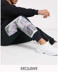 Reclaimed (vintage) Black Printed jogger for men
