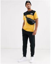 Himalayan - T-shirt gialla/nera di The North Face in Yellow da Uomo