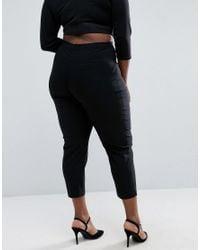 ASOS - Black Skinny Crop Pant - Lyst