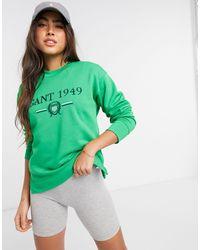 Pull ras Gant en coloris Green