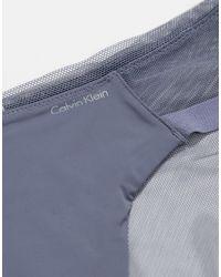 Серые Боксеры-брифы С Сеткой -серый Calvin Klein, цвет: Gray