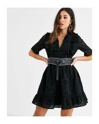 Vestito corto di ASOS in Black