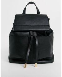 Рюкзак С Большими Карманами ASOS, цвет: Black