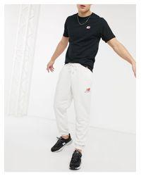 Joggers icona grigi di New Balance in Gray da Uomo