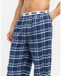 Pantalones ASOS de hombre de color Blue