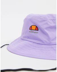 Sabi - Cappello da pescatore lilla di Ellesse in Purple da Uomo