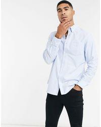 Оксфордская Рубашка С Длинными Рукавами -синий Ben Sherman для него, цвет: Blue