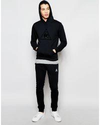 Le Coq Sportif - Hoody In Black 1610183 for Men - Lyst