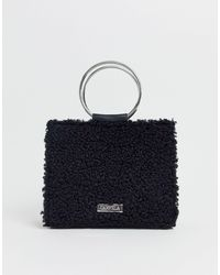 Flawless - Maxi borsa nera con manico rotondo di Carvela Kurt Geiger in Black