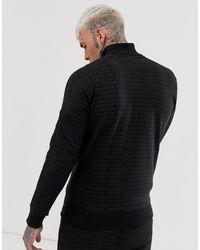 The Couture Club Couture Club – Durchgehend bedruckte Trainingsjacke in Black für Herren
