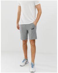 Серые Шорты С Логотипом Essentials-серый PUMA для него, цвет: Gray