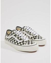 b1a3808c7d Vans Style 36 Decon Sf Checkerboard Sneakers In Black Vn0a3mvl01u1 ...