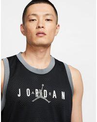 Nike - Jumpman - Canotta nera di Nike in Black da Uomo