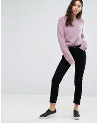 Weekday - Orange Way High Waist Slim Leg Jeans - Lyst
