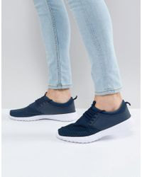 Loyalty & Faith Blue Frederico Sneakers In Navy