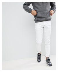 Jeans skinny bianchi di ASOS in White da Uomo