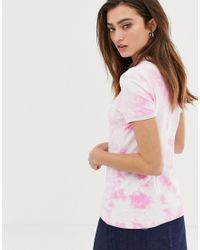 Polo tie-dye di Fred Perry in Pink