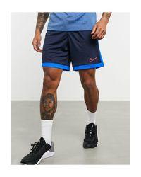 Темно-синие Шорты Academy-темно-синий Nike Football для него, цвет: Blue