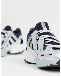 Zapatillas en azul marino y blanco EQT Gazelle Adidas Originals de hombre de color Blue
