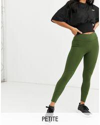 Leggings con icono y detalle ASOS 4505 de color Green