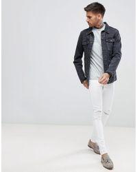 Armani Exchange - Ax Logo T-shirt In Gray for Men - Lyst