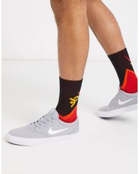 Nike - SB Charge - Baskets en toile - loup Nike pour homme - Lyst