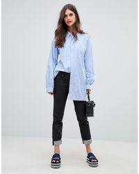 Jeans a tubo di Vivienne Westwood Anglomania in Black