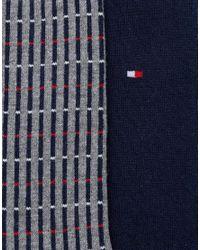 Tommy Hilfiger Blue Sock In 2 Pack for men