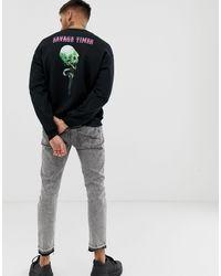 Sweat-shirt à tête Bolongaro Trevor pour homme en coloris Black